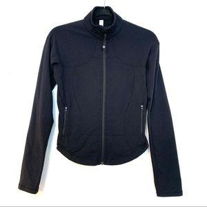 Lululemon Shape Jacket Black Sz 6 E65